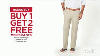 Belk Labor Day Sale & Clearance TV Spot, 'Pants, Shorts & Shoes' - Thumbnail 3