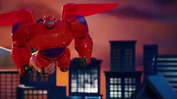 Big Hero 6 Flame-Blast Flying Baymax TV Spot, 'Take Down Evil' - Thumbnail 3