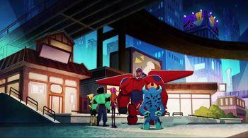 Big Hero 6 Flame-Blast Flying Baymax TV Spot, 'Take Down Evil' - Thumbnail 8