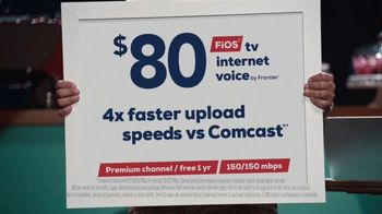 FiOS by Frontier TV Spot, 'Dream Job: Faster Than Comcast' - Thumbnail 10