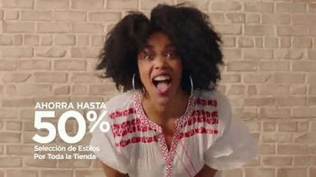 JCPenney TV Spot, 'Ahorros increíbles' [Spanish] - Thumbnail 4