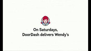 Wendy's & DoorDash TV Spot, 'On Saturdays, DoorDash Delivers Wendy's' - Thumbnail 2