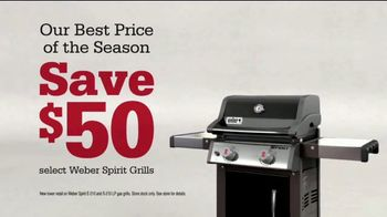 ACE Hardware Labor Day Sale TV Spot, 'Weber Spirit Grills' - Thumbnail 6