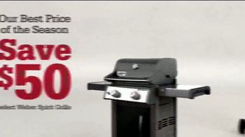 ACE Hardware Labor Day Sale TV Spot, 'Weber Spirit Grills' - Thumbnail 7