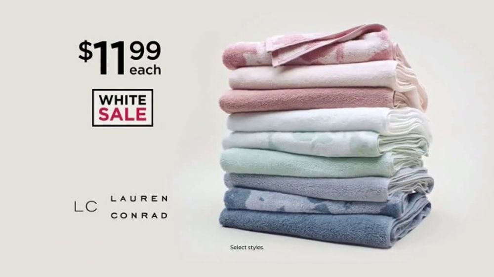 Kohl S Labor Day Sale Tv Commercial Bath Towels Comforters And