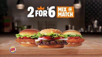Burger King 2 for $10 TV Spot, 'Make it a Meal' - Thumbnail 1