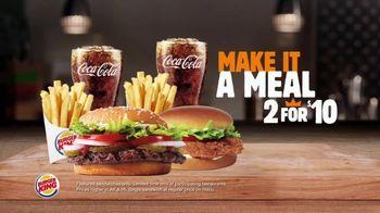 Burger King 2 for $10 TV Spot, 'Make it a Meal' - Thumbnail 2