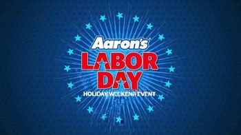 Aaron's Labor Day Holiday Weekend Event TV Spot, 'Rent to Own' - Thumbnail 1