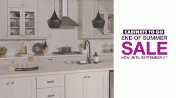 Cabinets To Go End of Summer Sale TV Spot, 'Your Dream Kitchen'