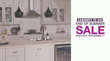 Cabinets To Go End of Summer Sale TV Spot, 'Your Dream Kitchen' - Thumbnail 3