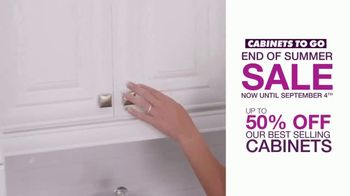 Cabinets To Go End of Summer Sale TV Spot, 'Your Dream Kitchen' - Thumbnail 4