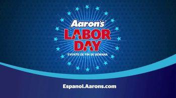 Aaron's Labor Day Evento de Fin de Semana TV Spot, 'Renta' [Spanish] - Thumbnail 8