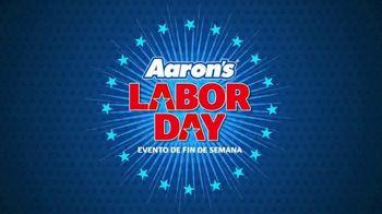 Aaron's Labor Day Evento de Fin de Semana TV Spot, 'Renta' [Spanish] - Thumbnail 1