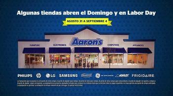 Aaron's Labor Day Evento de Fin de Semana TV Spot, 'Renta' [Spanish] - Thumbnail 7
