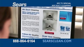 Sears TV Spot, \'Air Duct Cleaning\'