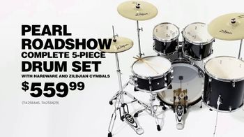 Guitar Center Labor Day Sale TV Spot, 'Pearl Drum Set'