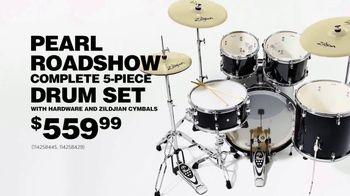 Guitar Center Labor Day Sale TV Spot, 'Pearl Drum Set' - Thumbnail 5