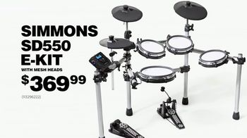 Guitar Center Labor Day Sale TV Spot, 'Pearl Drum Set' - Thumbnail 8
