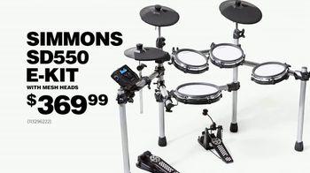 Guitar Center Labor Day Sale TV Spot, 'Pearl Drum Set' - Thumbnail 9