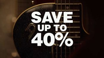 Guitar Center Labor Day Sale TV Spot, 'Top Brands' Feat. The White Buffalo