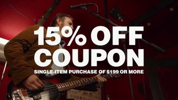 Guitar Center Labor Day Sale TV Spot, 'Top Brands' Feat. The White Buffalo - Thumbnail 7