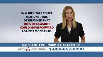 Weitz and Luxenberg TV Spot, \'Roundup Legal Helpline\' Feat. Erin Brockovich