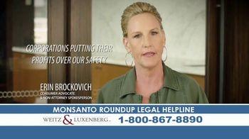 Weitz and Luxenberg TV Spot, 'Roundup Legal Helpline' Feat. Erin Brockovich - Thumbnail 5