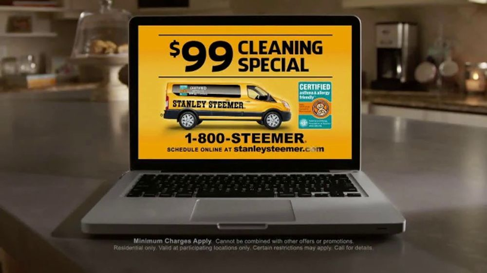 Stanley Steemer 99 Cleaning Special Tv Commercial Clean