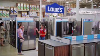 Lowe's Labor Day Savings TV Spot, 'The Moment: Fridge' - Thumbnail 5