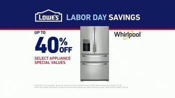 Lowe's Labor Day Savings TV Spot, 'The Moment: Fridge' - Thumbnail 8