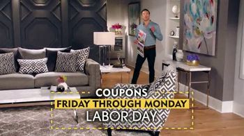 Rooms to Go TV Spot, 'Through Labor Day: Coupons' - Thumbnail 3