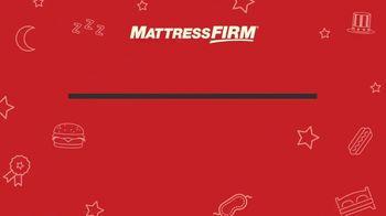 Mattress Firm Labor Day Sale TV Spot, 'Ends Monday' - Thumbnail 1