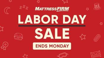 Mattress Firm Labor Day Sale TV Spot, 'Ends Monday' - Thumbnail 2