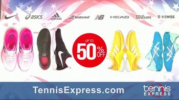 Tennis Express Labor Day Sale TV Spot, 'Shoes, Apparel and Racquets' - Thumbnail 2