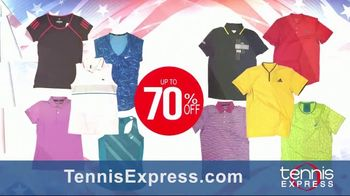 Tennis Express Labor Day Sale TV Spot, 'Shoes, Apparel and Racquets' - Thumbnail 3