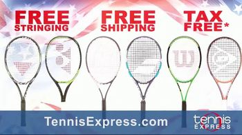 Tennis Express Labor Day Sale TV Spot, 'Shoes, Apparel and Racquets' - Thumbnail 4