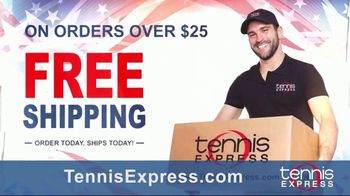 Tennis Express Labor Day Sale TV Spot, 'Shoes, Apparel and Racquets' - Thumbnail 5
