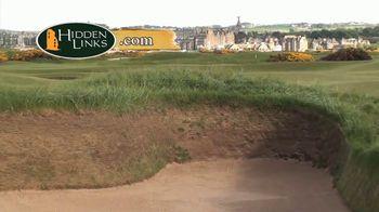 Hidden Links TV Spot, 'Hell Bunker at St. Andrews'