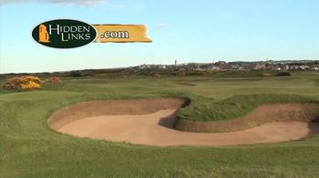 Hidden Links TV Spot, 'Hell Bunker at St. Andrews' - Thumbnail 1