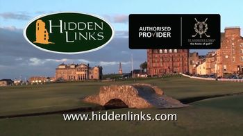 Hidden Links TV Spot, 'Hell Bunker at St. Andrews' - Thumbnail 5