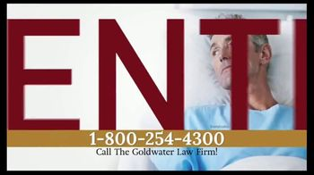 Goldwater Law Firm TV Spot, 'Hernia Mesh Warning' - Thumbnail 1