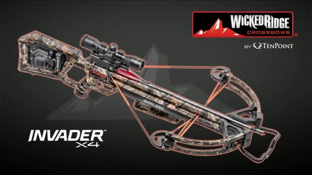 Wicked Ridge Crossbows Invader X4 TV Commercial, 'American-Made Confidence'  - Video