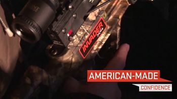 Wicked Ridge Crossbows Invader X4 TV Spot, 'American-Made Confidence'