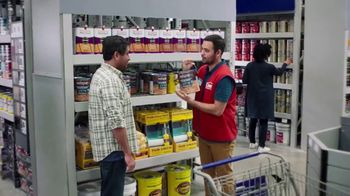 Lowe's Labor Day Savings TV Spot, 'Game-Changer: Paint, Primer and Stains' - Thumbnail 1