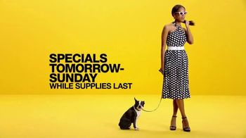 Macy's Black Friday in July TV Spot, 'Shoes, KitchenAid and Pillows'