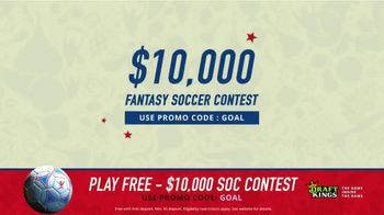 DraftKings 1-Day Fantasy Soccer TV Spot, '$10,000 Contest' - 14 commercial airings