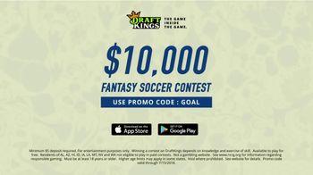 DraftKings 1-Day Fantasy Soccer TV Spot, '$10,000 Contest' - Thumbnail 9