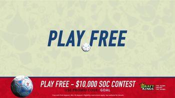 DraftKings 1-Day Fantasy Soccer TV Spot, '$10,000 Contest' - Thumbnail 2