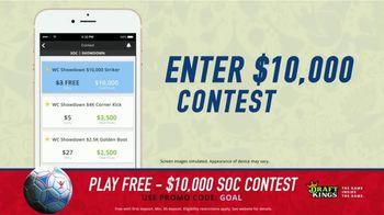 DraftKings 1-Day Fantasy Soccer TV Spot, '$10,000 Contest' - Thumbnail 4