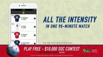 DraftKings 1-Day Fantasy Soccer TV Spot, '$10,000 Contest' - Thumbnail 5